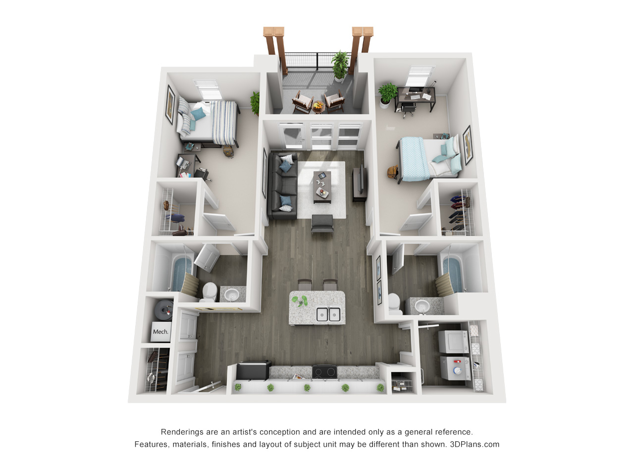 Urban Enclave Floor Plans